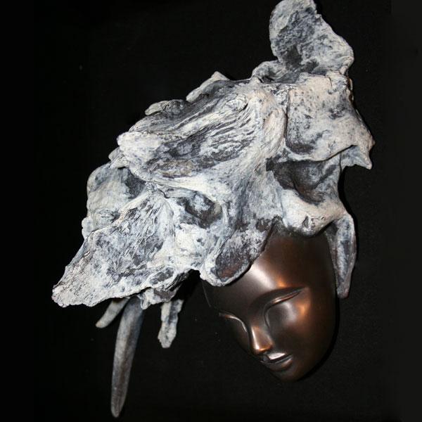 Sculpture en Bronze: Annaïdes de Patrick Vogel